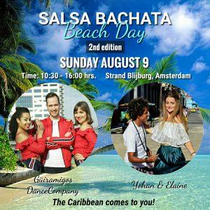 Salsa Bachata Beach Day